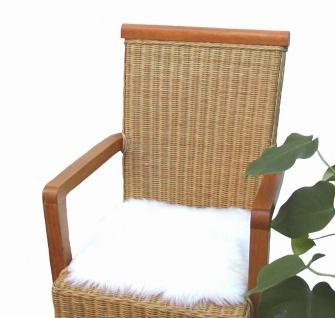 Heino Felle eckige Sitzauflage aus australischen Lammfellen, Fellkissen natur...