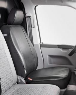 Universal Kunstleder Transporter Sitzbezug anthrazit waschbar, auch für Seite...