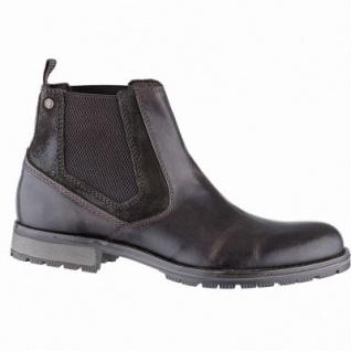 Jack&Jones JFW Carston Herren Leder Boots brownstone, 12 cm Schaft, Textilfutter, herausnehmbare Einlegesohle, 2541104
