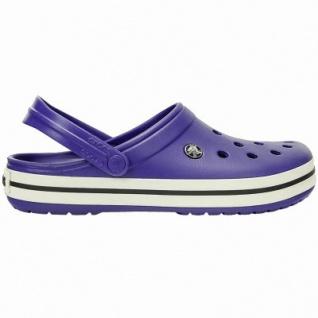 Crocs Crocband leichte Damen, Herren Crocs cerulean blue, Croslite Foam-Fußbett, Belüftungsöffnungen, 4340102/37-38