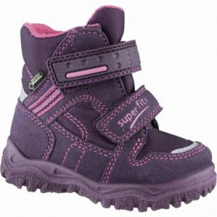 Superfit Mädchen Synthetik Winter Tex Boots eggplant, Warmfutter, warmes Fußbett, 3239110/24