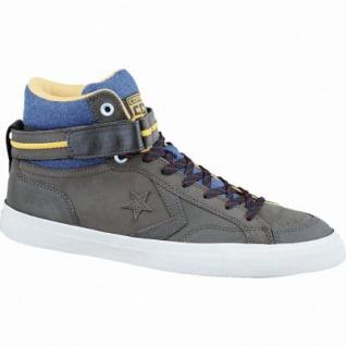 Converse Cons Pro Blaze Plus coole Herren Leder Sneaker hot cocoa-casion-parchment, Textilfutter, 2137131/40