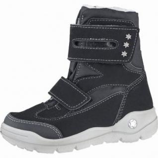 Ricosta Silke Mädchen Winter Thermo Tex Boots schwarz, Warmfutter, warmes Fußbett, 3739190