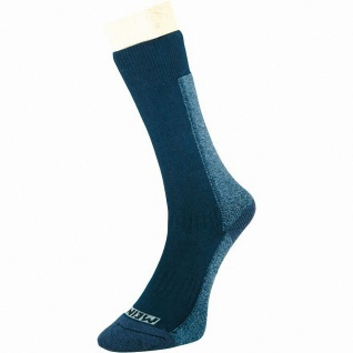Meindl Damen, Herren Trekking Socken marine, Cool Max mit Baumwolle