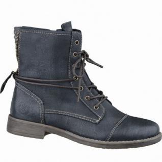 Jane Klain Damen Synthetik Boots graphit, Fersen-Reißverschluss, Warmfutter, warme Super-Soft-Decksohle, 1637270/37