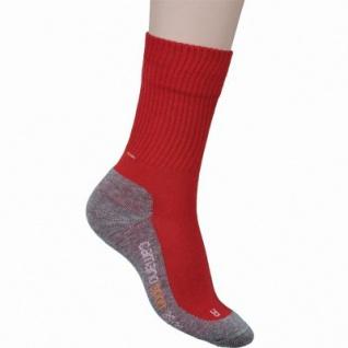 Camano Children Sport Socks NOS rot, 2er Pack Socken, Komfortbund ohne Gummidruck, 6533129/27-30