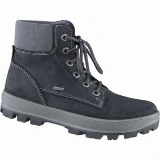 Superfit coole Jungen Winter Leder Gore Tex Boots schwarz, Warmfutter, warmes Fußbett, 3739147/34