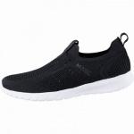 MEXX coole Damen Strick Sneakers black, herausnehmbares Fußbett, 1242179/37