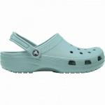 Crocs Classic coole Damen Clogs tropical teal, Massage-Fußbett, Belüftungsöffnungen, 4340107/42-43