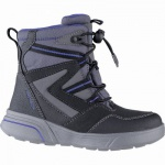 Geox Jungen Synthetik Winter Amphibiox Boots black, molliges Warmfutter, Thermal Insulation, 3741116/28