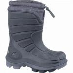 Viking Extreme Mädchen, Jungen PU Thermo Boots black, Warmfutter, warmes Fußbett, bis -20 Grad, 4537112