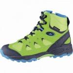 Lico Cascade Mädchen, Jungen Nylon Trekking Tex Boots lemon, Textilfutter, Warmfutter, warme Textileinlegesohle, 4541101