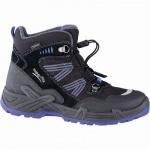 Superfit Jungen Winter Leder Gore Tex Boots schwarz, angerautes Futter, warmes Fußbett, 3741141