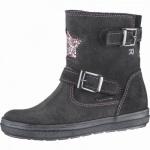 Richter Mädchen Leder Winter Tex Boots steel, Warmfutter, warmes Fußbett, mittlere Weite, 3739198/35