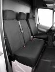 Passform Transporter Sitzbezüge VW LT, passgenauer Stoff Sitzbezug Einzelsitz+Doppelbank, Bj. 01/1996-04/2006