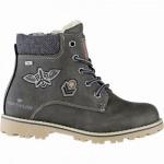 TOM TAILOR Jungen Leder Imitat Winter Tex Boots khaki, 11 cm Schaft, molliges Warmfutter, warmes Fußbett, 3741155