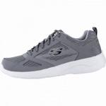 Skechers coole Herren Synthetik / Mesh Sneakers charcoal, Memory Foam-Fußbett, 4242117/39