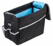 Polyester Kinder Auto Rückbank Organizer, Rücksitz Tasche schwarz, viele Fächer, 31x22x15 cm, Kinder Auto Tasche