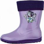 Beck Fee warme Mädchen Winter PVC Boots viola, molliges Futter zum Herausnehmen, 5033109/32