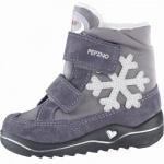 Pepino Hilde Mädchen Leder Winter Tex Boots amethyst, Warmfutter, warmes Fußbett, 3239116/22