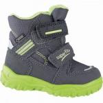 Superfit Jungen Winter Synthetik Tex Boots grau, mittlere Weite, molliges Warmfutter, warmes Fußbett, 3241106