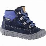 Geox Jungen Winter Leder Boots navy, leichtes Warmfutter, chromfrei, warme Einlegesohle, 3241104