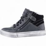 Richter Jungen Winter Boots black, mittlere Weite, molliges Warmfutter, warmes Fußbett, 3741236