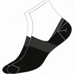Camano Basic NOS Invisible black, 2er Pack Damen, Herren unsichtbare Sneaker Socken schwarz, 74% Baumwolle, 6539113