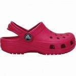 Crocs Classic Kids Mädchen Crocs candy pink, verstellbarer Fersenriemen, 4338119/27-28