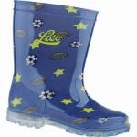 Lico Powerlight Jungen Synthetik Regenstiefel blau, rutschfeste Gummilaufsohle, 5038102