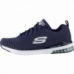 Skechers Skech-Air-Infinity coole Damen Strick Sneakers navy, Air-Cooled-Memory-Foam-Fußbett, 4142121/36