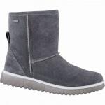 Superfit Mädchen Winter Leder Tex Boots grau, 13 cm Schaft, Warmfutter, warmes Fußbett, mittlere Weite, 3741145