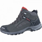 Meindl Journey Mid GTX Herren Leder Mesh Outdoor Schuhe anthrazit, Air-Active-Wellness-Sport-Fußbett, 4438167/12.0