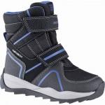 Geox Jungen Synthetik Winter Amphibiox Boots black, molliges Warmfutter, Geox Fußbett, 3741117