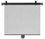 2 Stück Universal VAN Transporter Sonnenrollos 53x56 cm mit Saugnäpfen schwarz, Sonnenschutz Rollos, Fenster Rollos