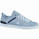 Le coq sportif Obaldia Low modische Herren Leder Sneaker grey, Lederdecksohle, 2136143/41