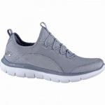 Skechers Flex Appeal 2.0 coole Damen Mesh Sneakers blue, Skechers Air-Cooled-Memory-Foam-Fußbett, 4240195/41