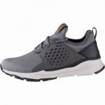 Skechers Relven Hemson coole Herren Synthetik Sneakers grey, Skechers Air-Cooled Memory Foam-Fußbett, 4241146