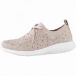 Skechers Ultra Flex coole Damen Strick Sneakers rose, Skechers Air-Cooled-Memory-Foam-Fußbett, 4142108/36