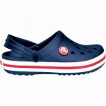 Crocs Crocband Kids Mädchen, Jungen Crocs navy, verstellbarer Fersenriemen, 4338122