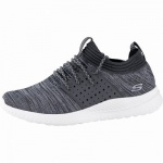 Skechers Matera coole Herren Strick Sneakers black, Skechers Air-Cooled Memory Foam-Fußbett, 4242121/40
