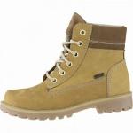 Richter warme Jungen Leder Tex Boots mustard, mittlere Weite, 11 cm Schaft, Warmfutter, warmes Fußbett, 3741232