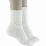 Camano Cuddle Socks offwhite, 2er Pack flauschige Damen Kuschel Socken cremeweiß, 6539101/39-42
