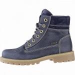Richter Mädchen Leder Tex Boots atlantic, 11 cm Schaft, mittlere Weite, Warmfutter, warmes Fußbett, 3741225
