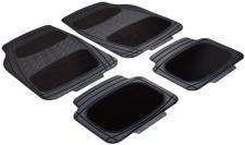 hochwertige Universal Auto Gummimatten High End schwarz aus TPR, zuschneidbar, für alle PKW
