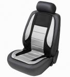 beheizbare Auto Sitzauflage schwarz grau, Sitzheizkissen für alle PKW mit und ohne Airbag
