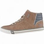 Mustang coole Herren Leder Imitat Winter Boots kastanie, molliges Warmfutter, warme Decksohle, 2539105