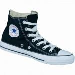 Converse Chuck Taylor All Star High schwarz, Damen, Herren Canvas Chucks, 4234127