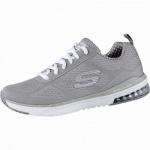 Skechers Infinity coole Damen Mesh Sneakers taupe, Skechers Air-Cooled-Memory-Foam-Fußbett, 4240198/36