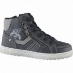 Indigo Jungen Synthetik Winter Boots black, Warmfutter, warmes Fußbett, 3739168/33